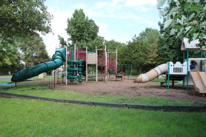 Playground area near your furnished rental apartment in Branchburg, NJ